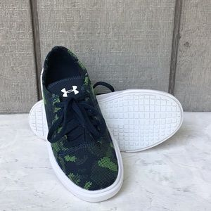 Kids Under Armour Camo Sneakers- Never Worn